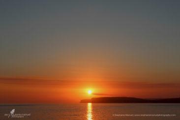 Golden sunset on Gozo island, Malta